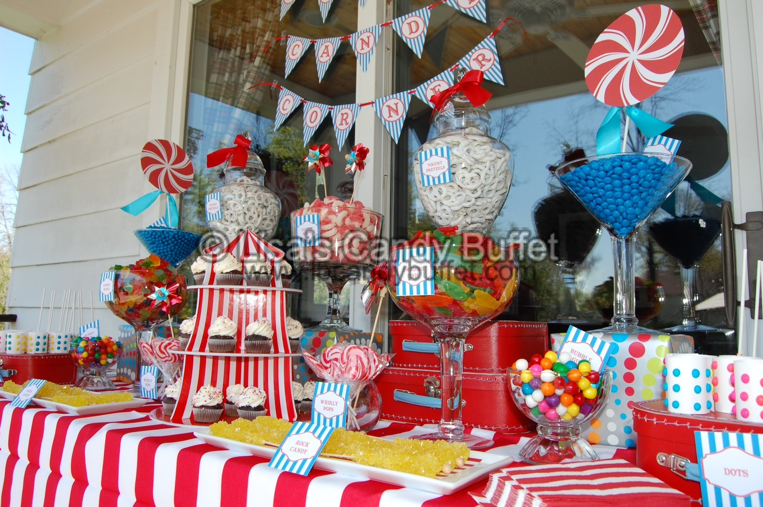 Ideas For Candy Buffet