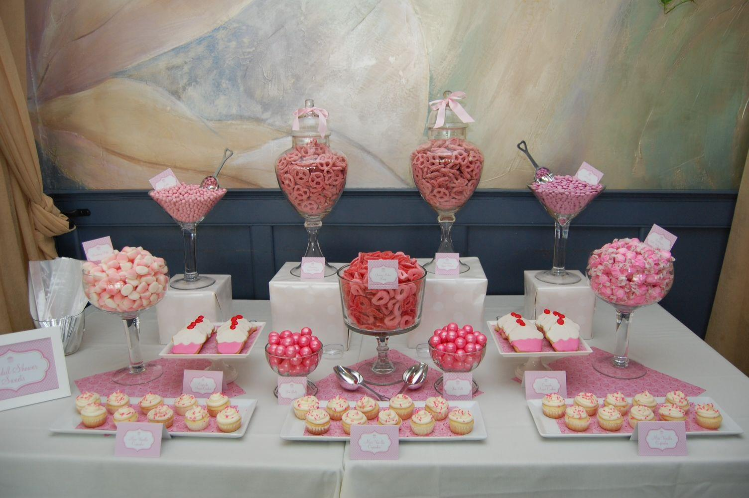 cupcake themed bridal shower
