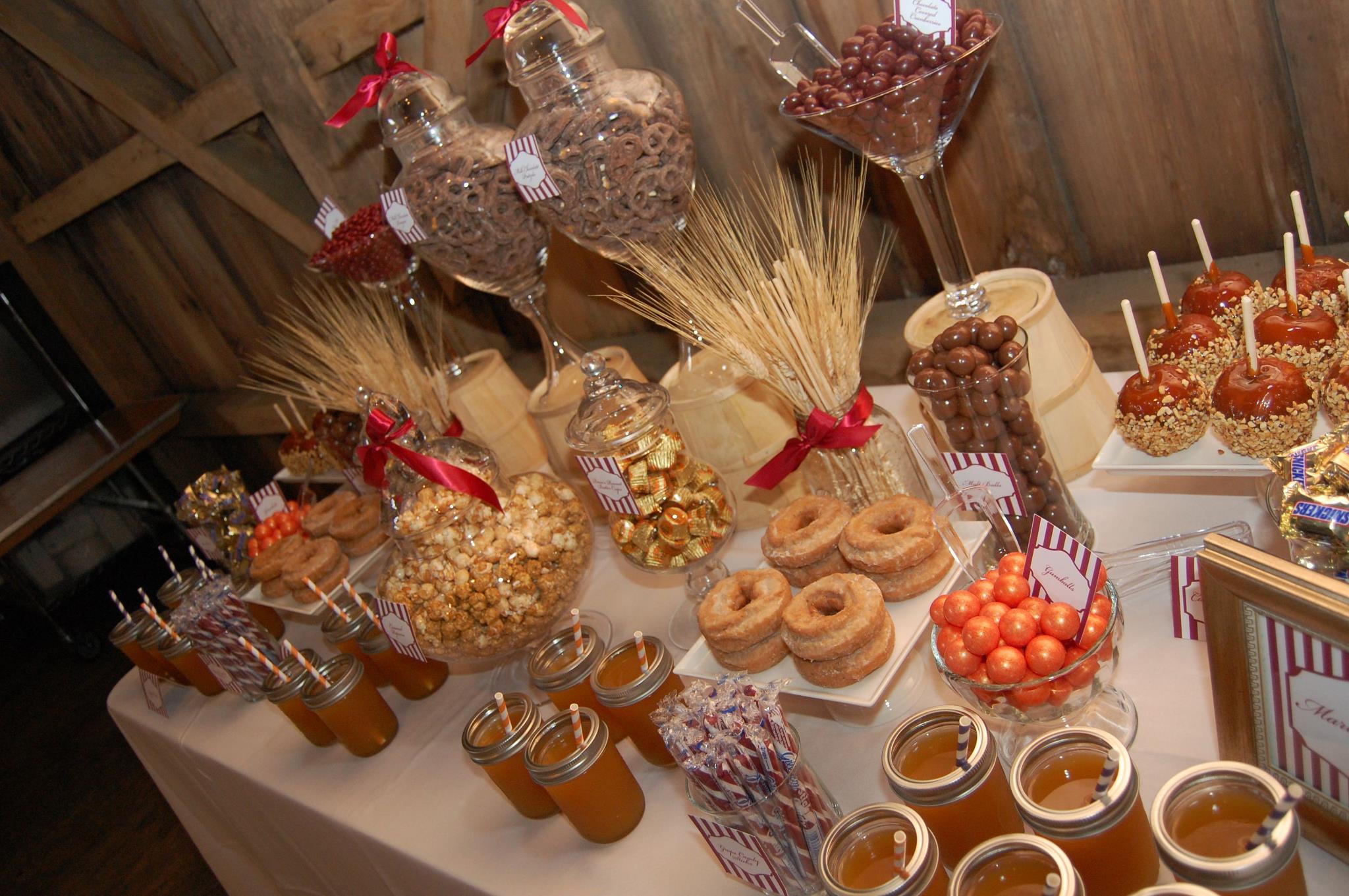 Fall Harvest Candy Buffet Blog