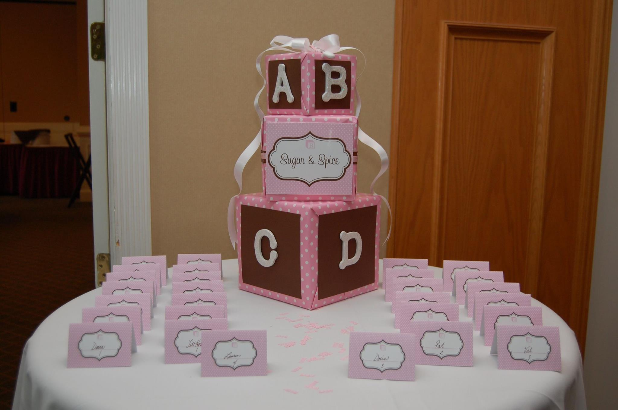 Sugar and Spice Baby Shower - Candy Buffet Blog